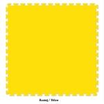 evamat polos 1mx1mx2cm kuning